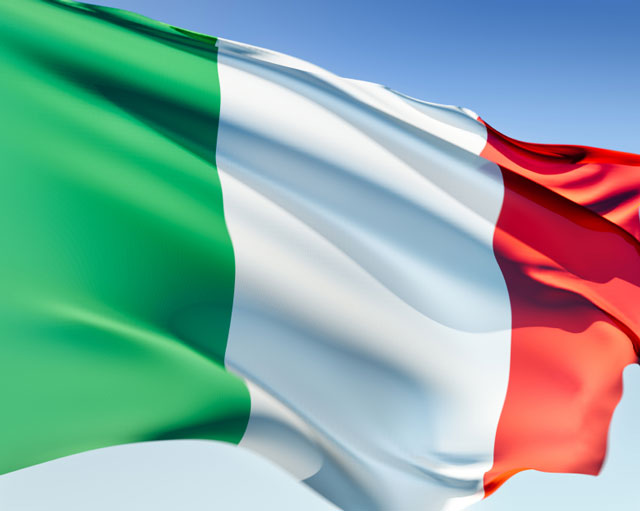 The Italian flag is based on the French tricolore, although the original ...